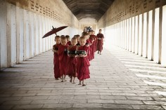 Scenes from a Monastery in Myanmar by Kelly Hesburn (USA), shortlist, Travel