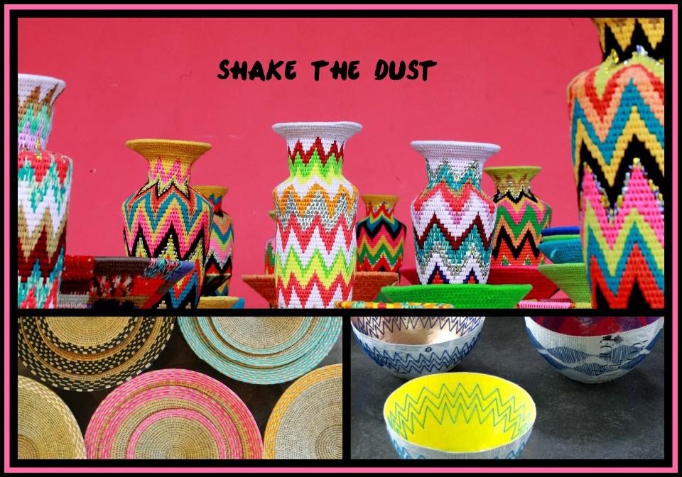 tribal vases