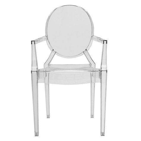 Kartell Louis Ghost Chair photo: John Lewis