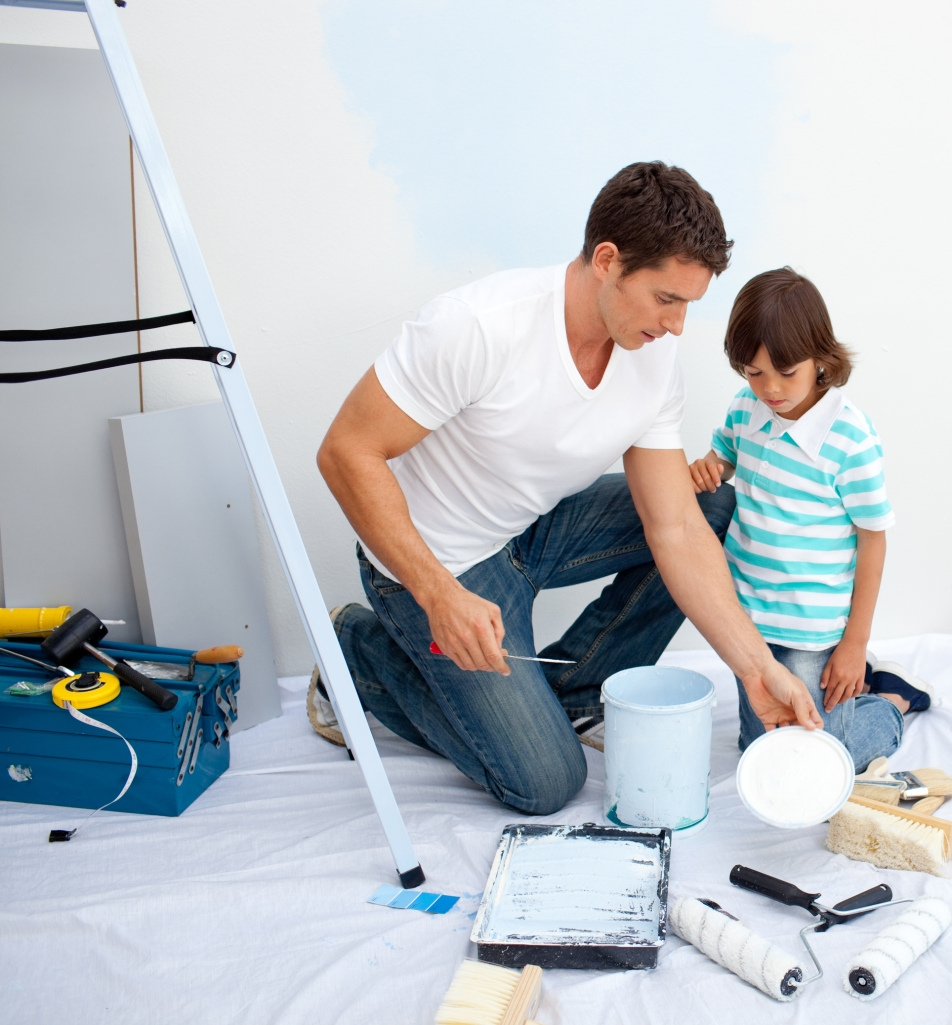 father_son_painting