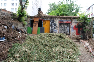 old sheds now shelter homeless