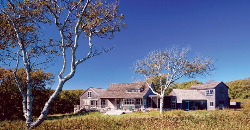 House in Chilmark photo: Stephen Blatt Architects