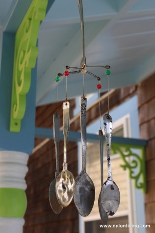 spoon windchime