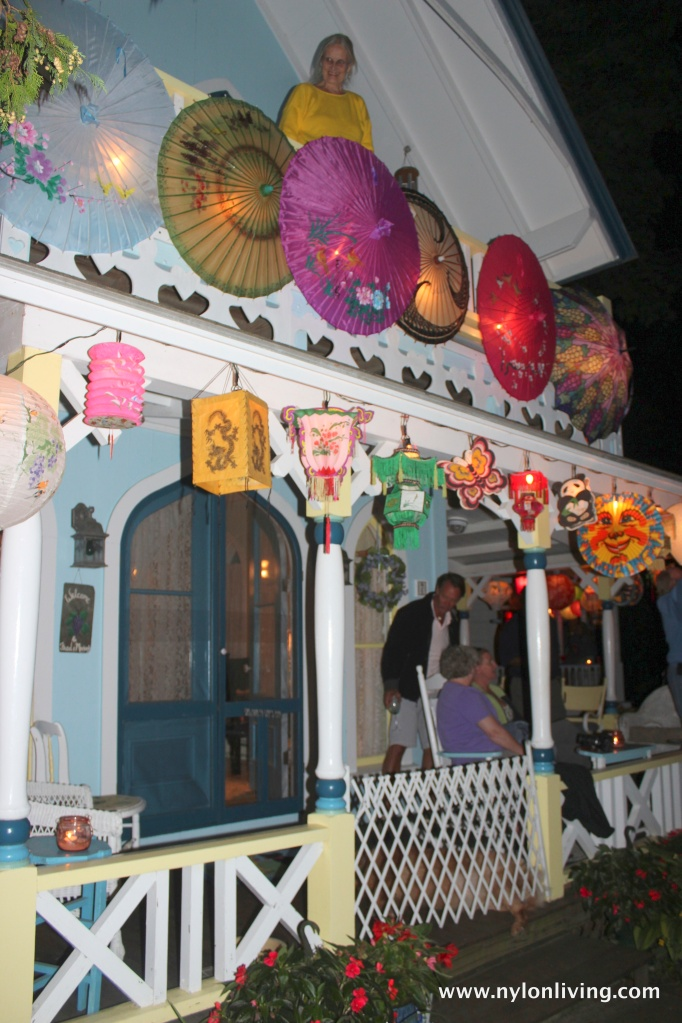 pre-lighting lanterns