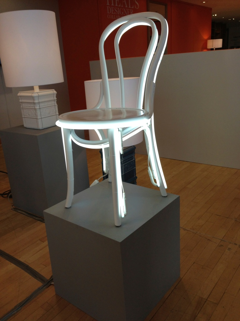 White Chair Light
