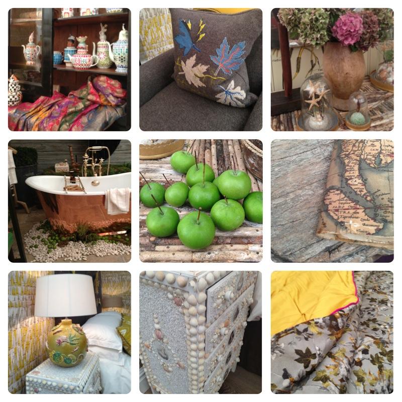 Design details from Kit Kemp's sets at Decorex 2013