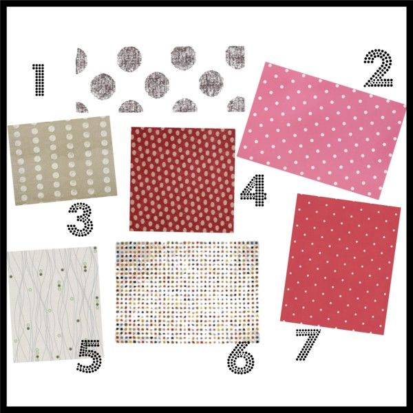polka dot soft furnishings