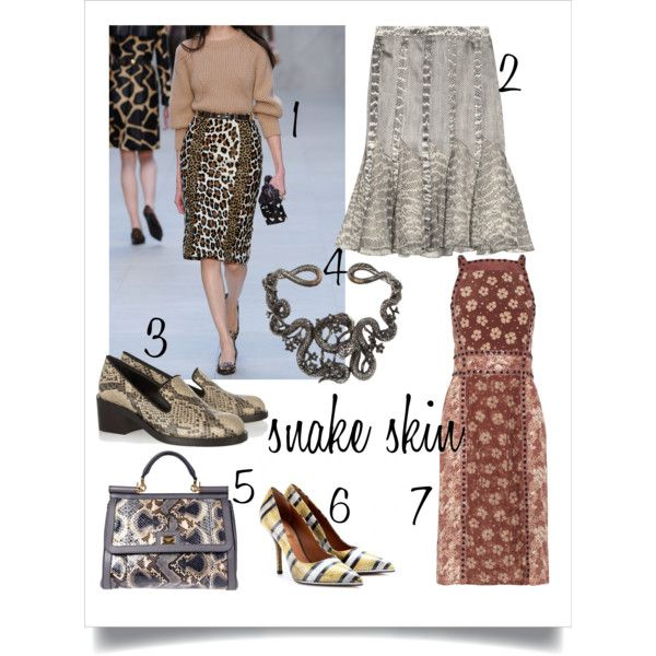 snakeskin couture