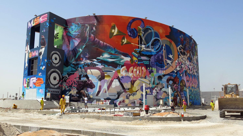 abu dhabi graffiti