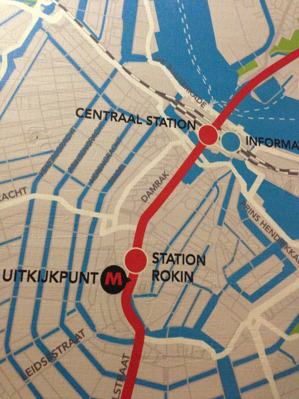Rokin Map