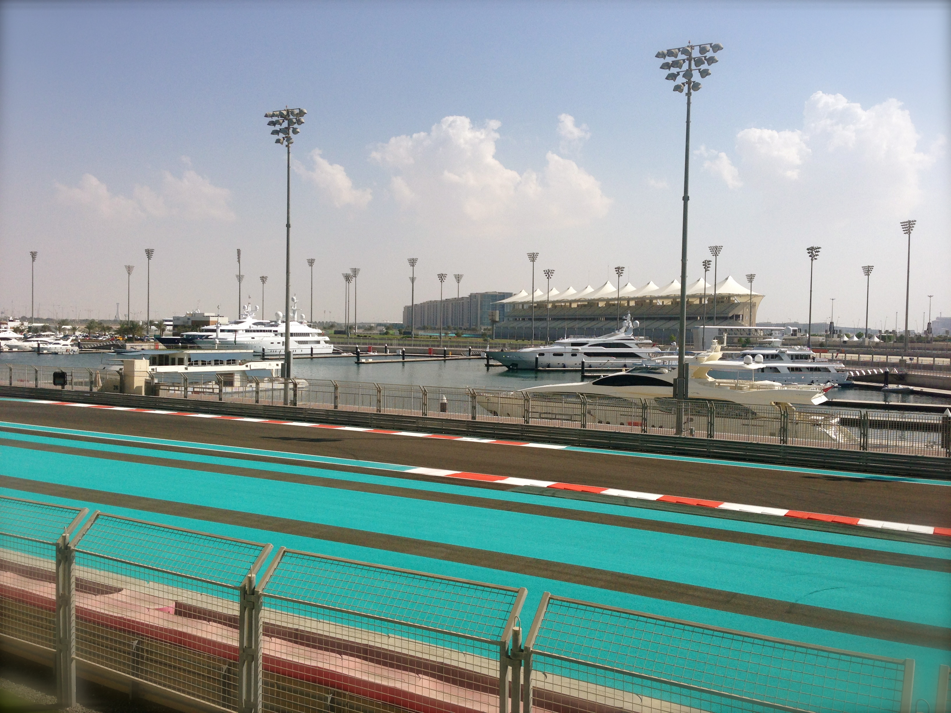 F1 racetrack Abu Dhabi