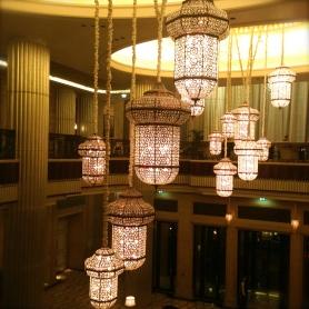 St. Regis chandeliers