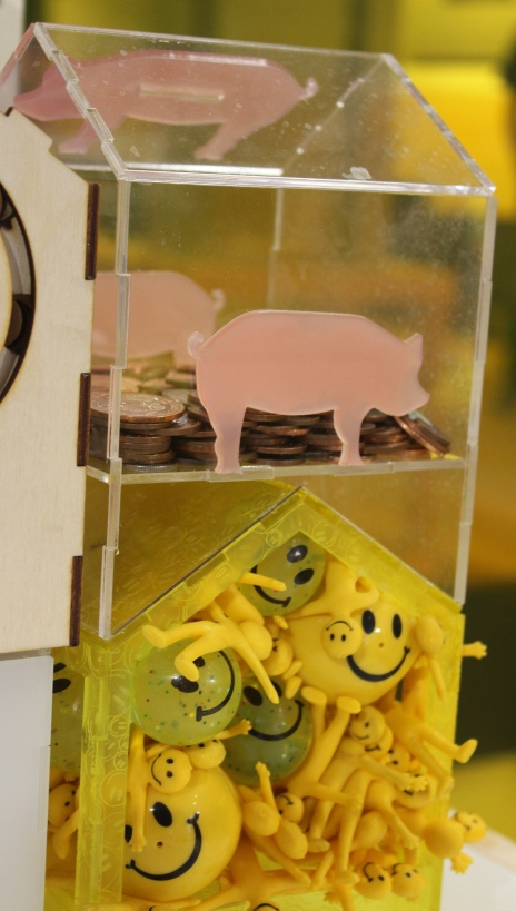 Make piggybank section