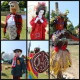 scarecrows RHS hampton court