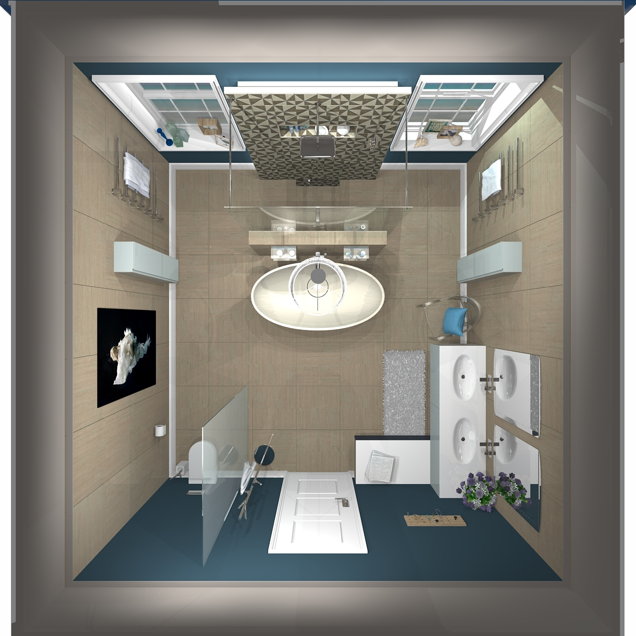 My c p hart dream bathroom in 3d nylon living for Bathroom planner 3d