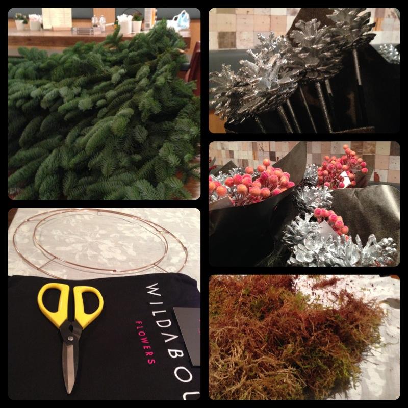 wreath parts