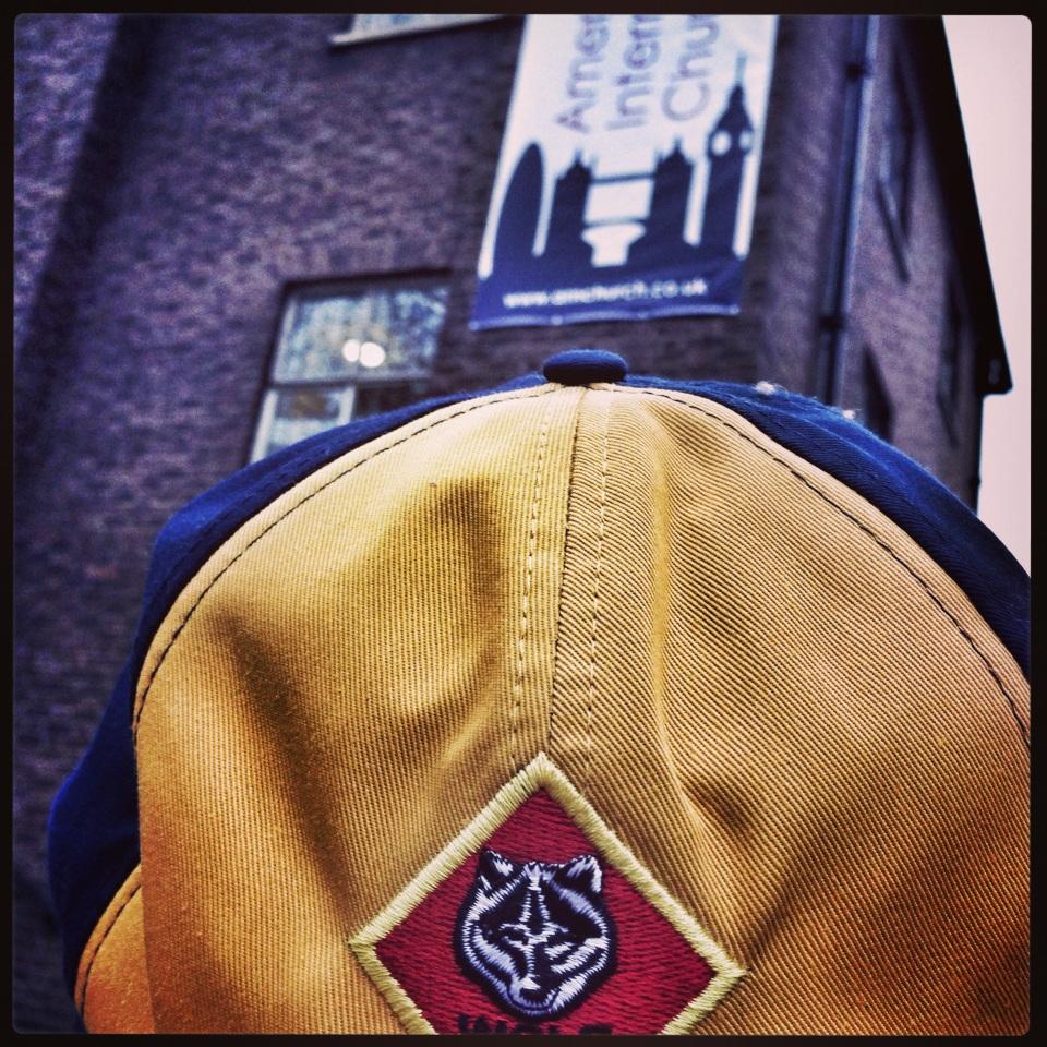 boy scout cap