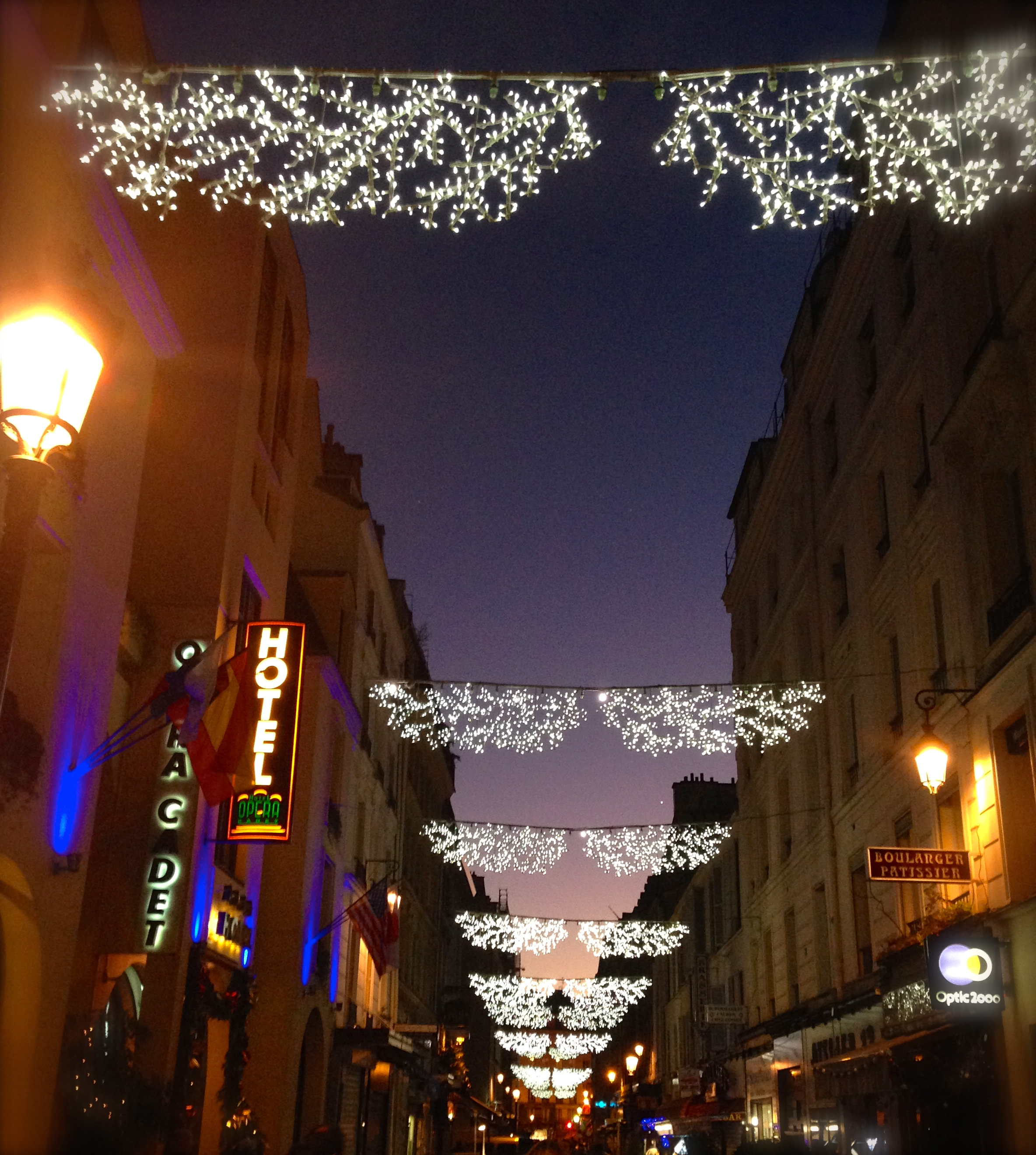 Christmas Festivities in Paris