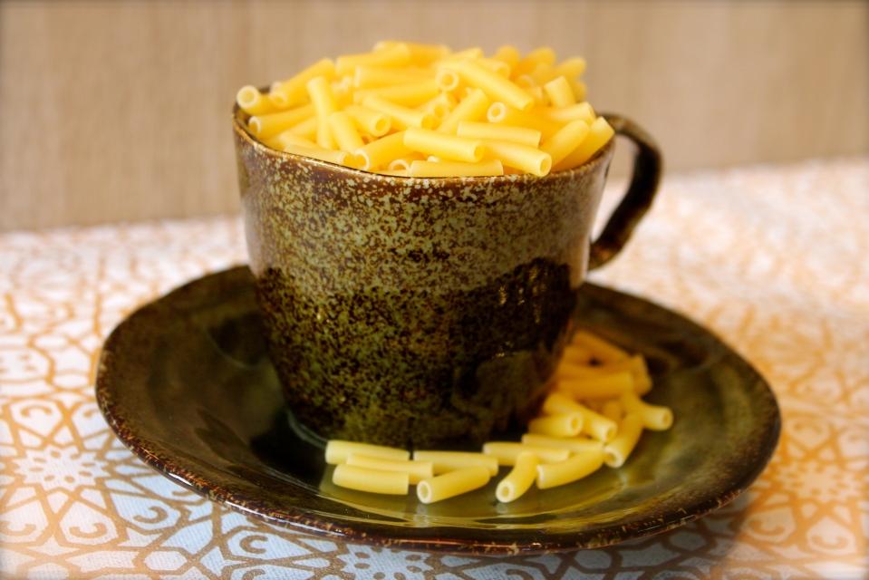 cup of macaroni
