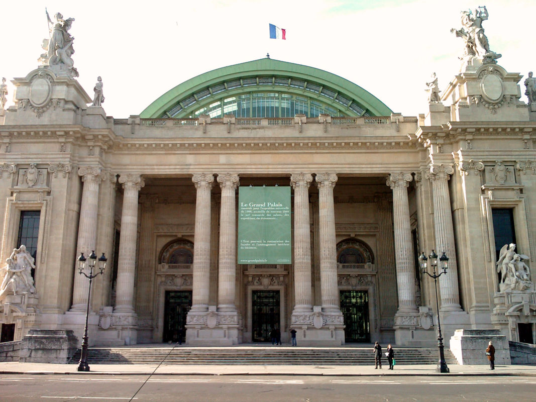 the really uber grand palais in paris. Black Bedroom Furniture Sets. Home Design Ideas