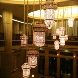 hotel lobby lights
