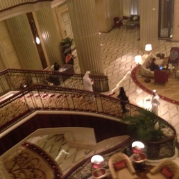 st regis staircase