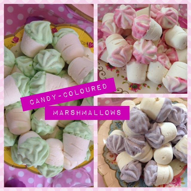 pretty marshmallows