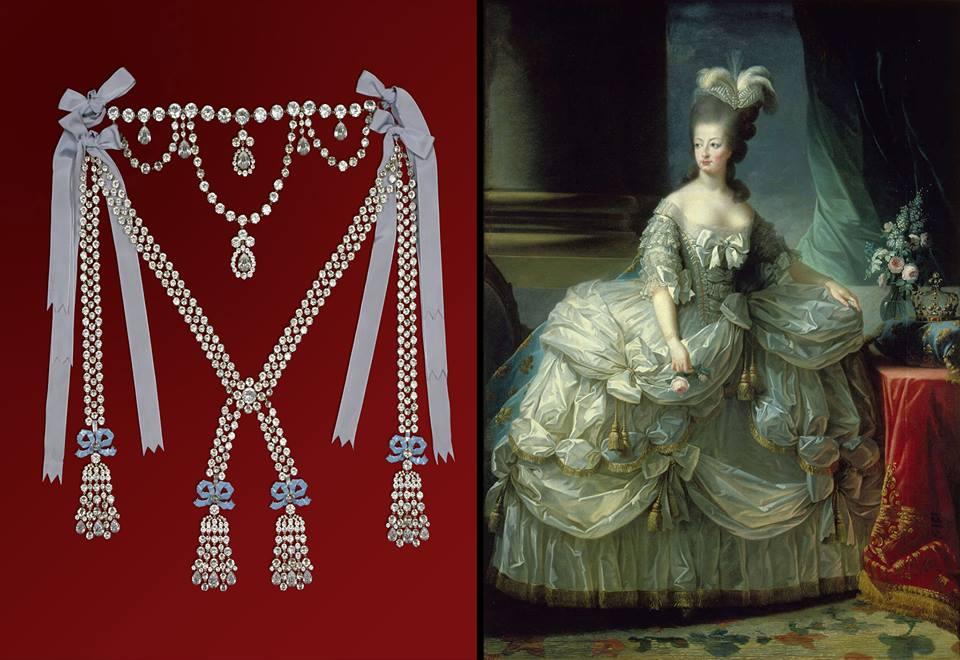 diamond necklace affair