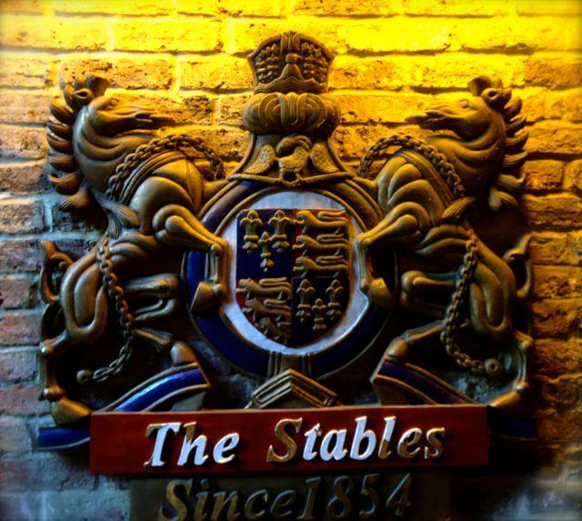 stables plaque