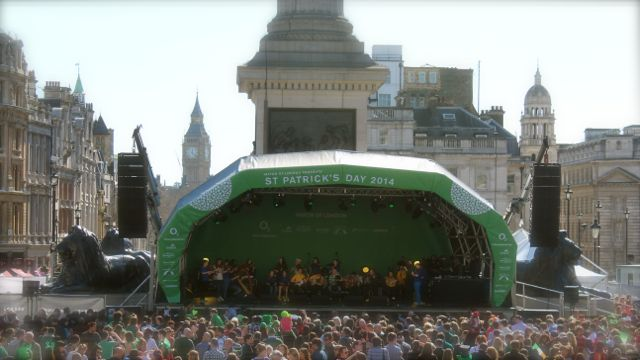 St. Patrick's Day Stage