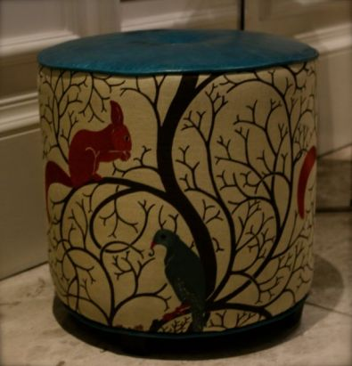 animal pouffe