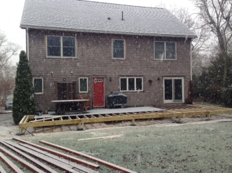 back decking extension