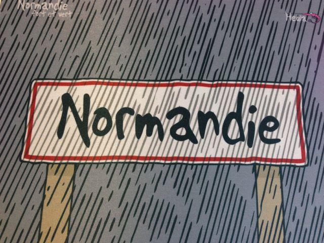 rain in normandy