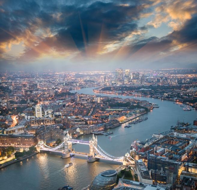 London view of skyline