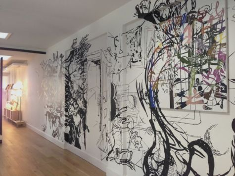 Muuto office mural