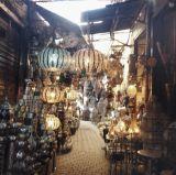 souks selling lamps