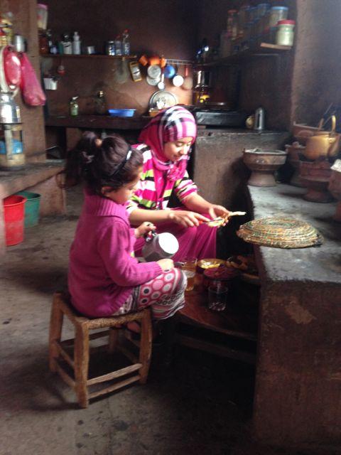 berber family cooking