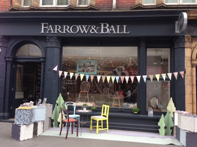 farrow and ball get festive