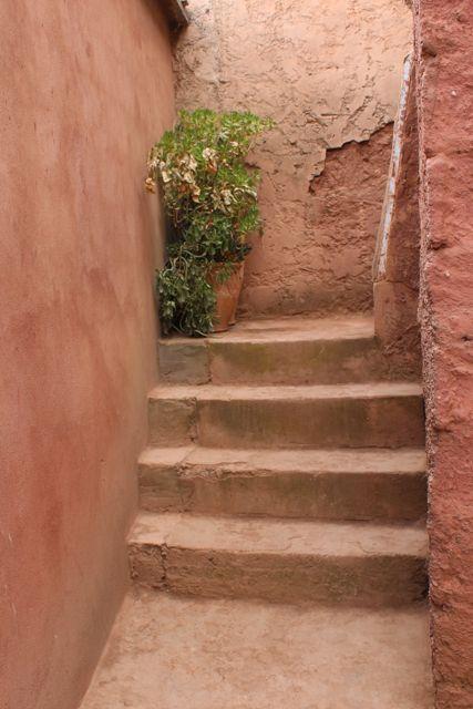 internal steps