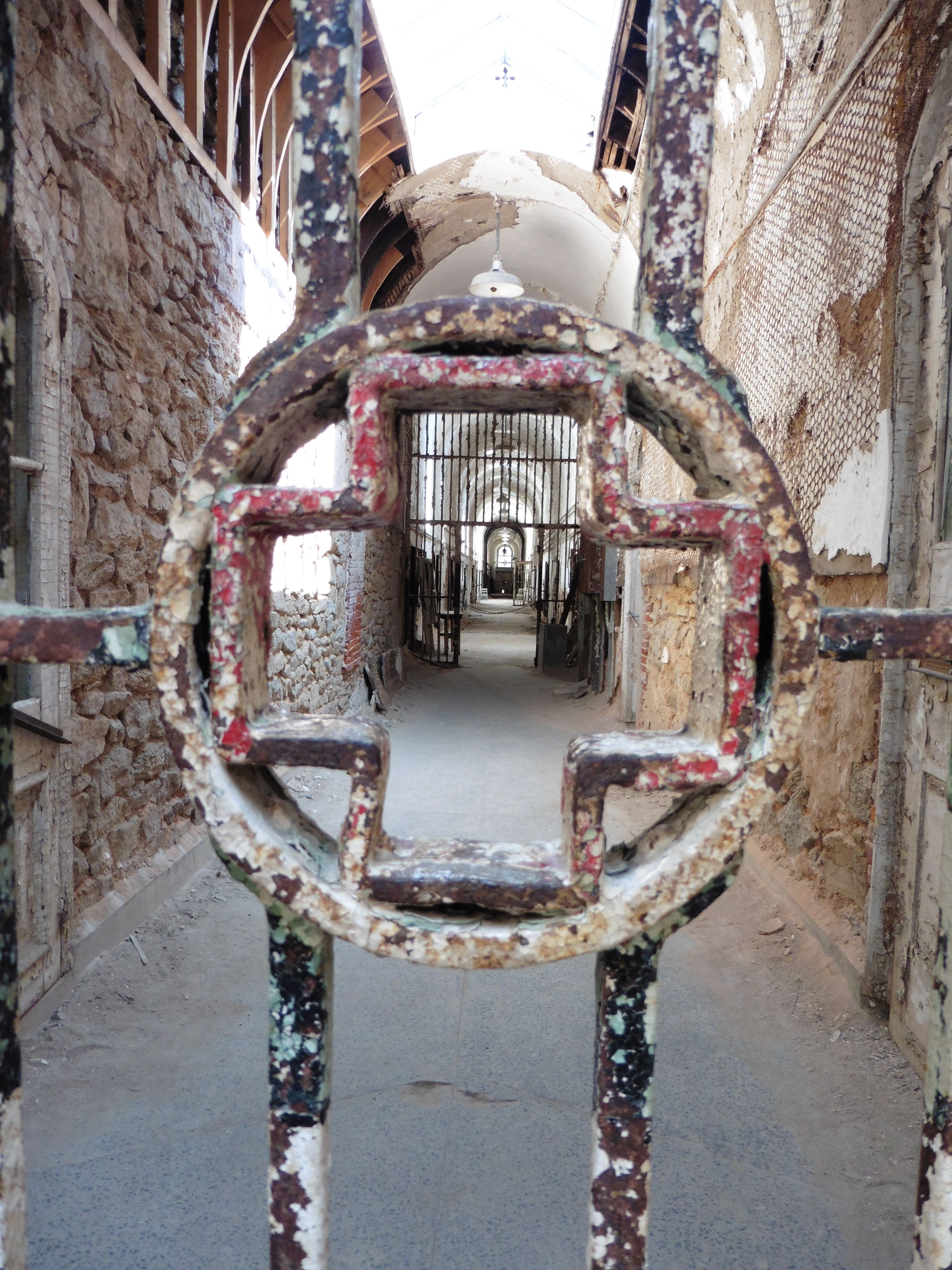 the hospital block at eastern penitentiary