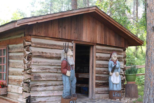 stavkirke log cabin