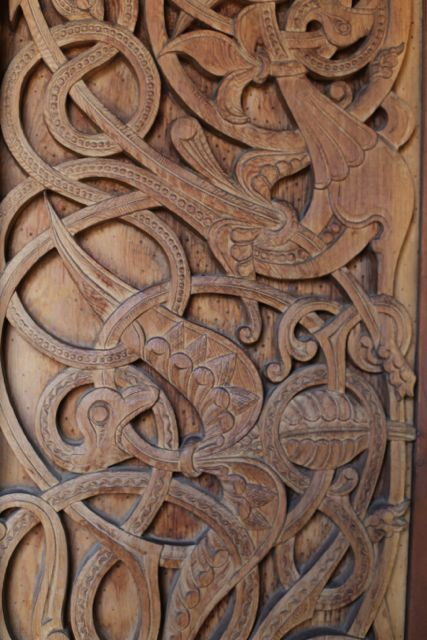 stavkirke carving
