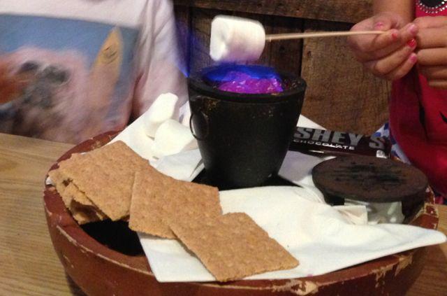 making smokes at the table