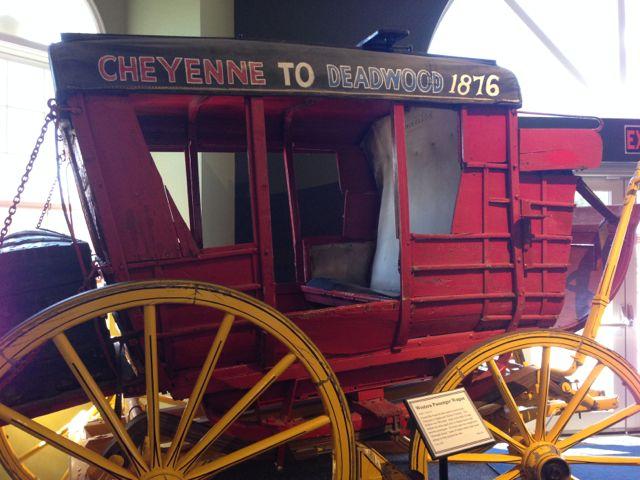 a Deadwood to Cheyenne Coach