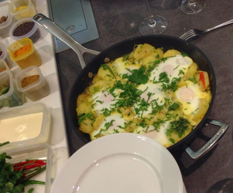 eggs with potatoes