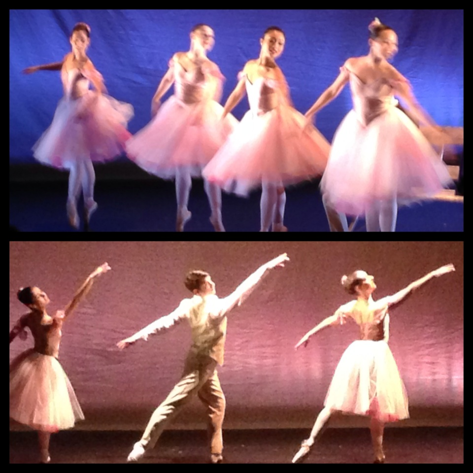 ballerinas in tutus